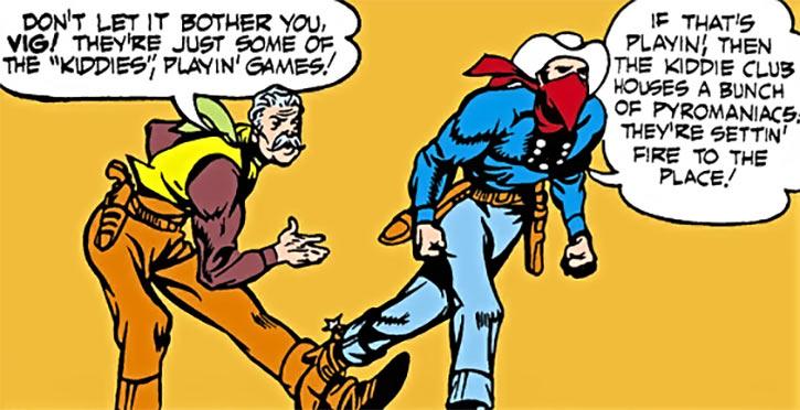 Vigilante (DC Comics Greg Sanders) and Billy Gunn
