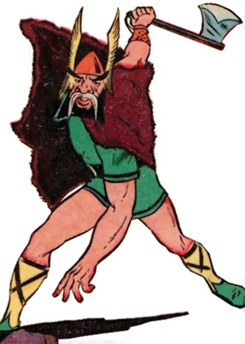 Viking (Namora enemy) (Marvel Timely Comics) (Golden Age)