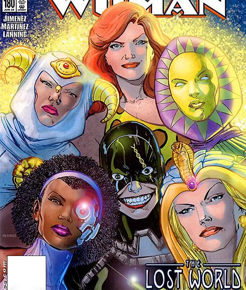 Villainy, Inc. (Wonder Woman enemies) (DC Comics) faces by Phil Jimenez