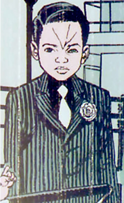 Kid Scarface of the Newsboy Army (DC Comics)
