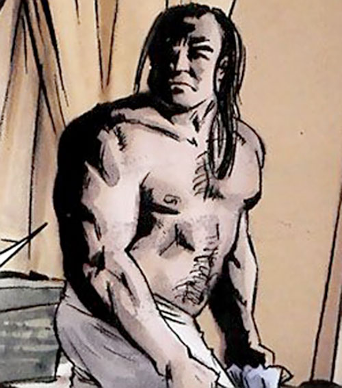 Violens (Peter David comics) bare-chested