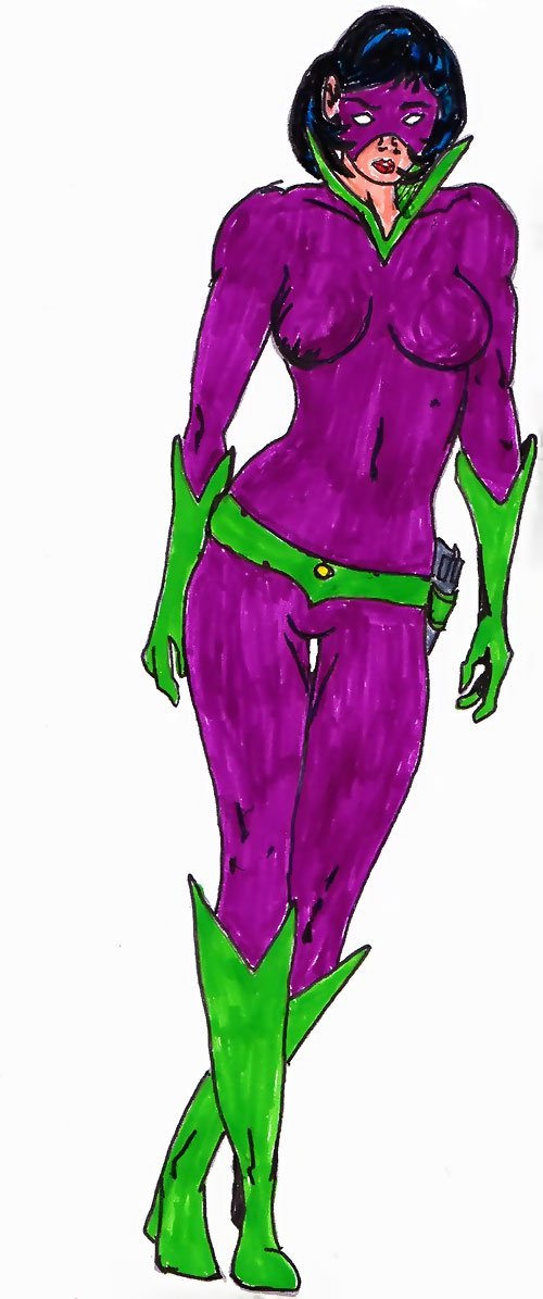 Violet of the Challengers (DC Heroes RPG)