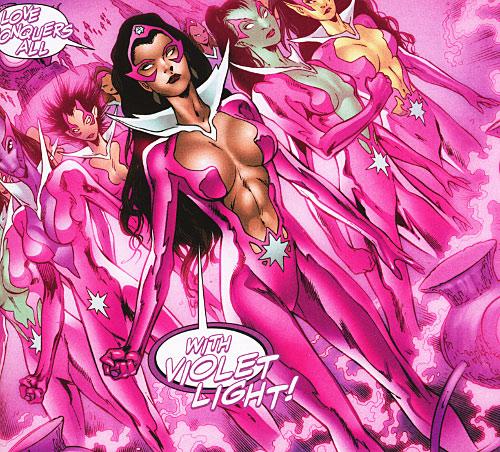 Violet Power Green Lantern Love Star Sapphires