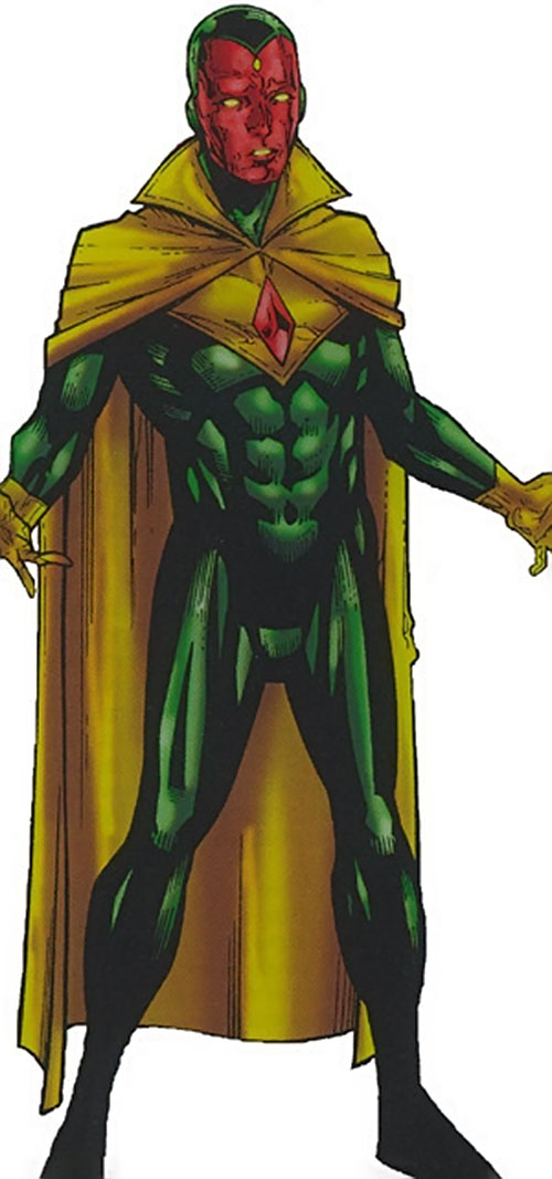 Vision of the Younger Avengers (Marvel Comics)
