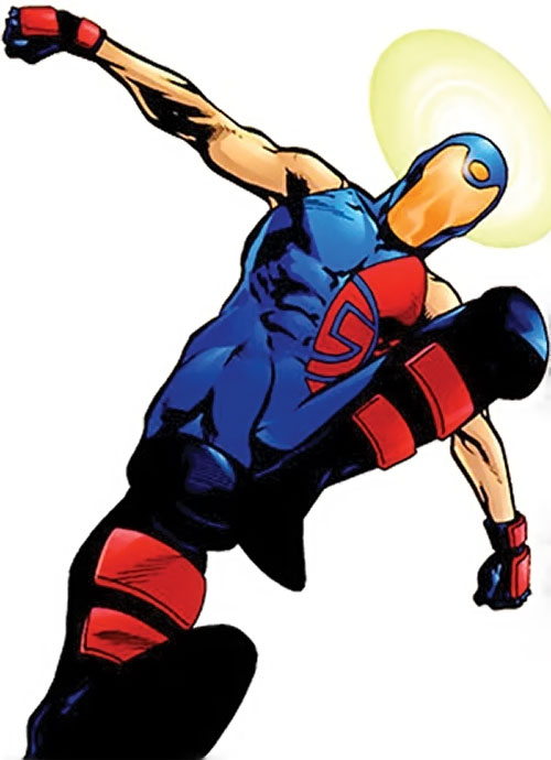 sionary from the Dynamo 5 (Image Comics) leaping