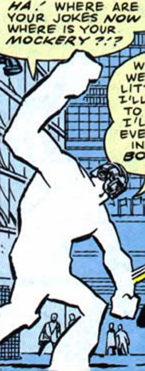 Voidoid (1963 Alan Moore comics) (Fury enemy) fighting