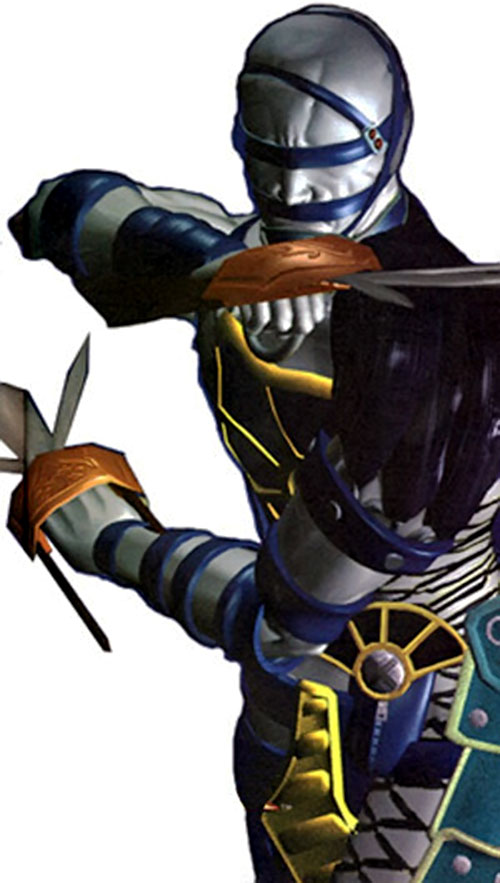 Voldo (Soul Calibur) in blue and teal