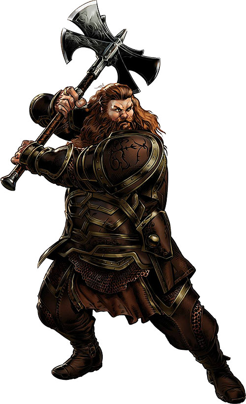 Volstagg the Enormous (Thor ally) (Marvel Comics) in the movie-influenced version