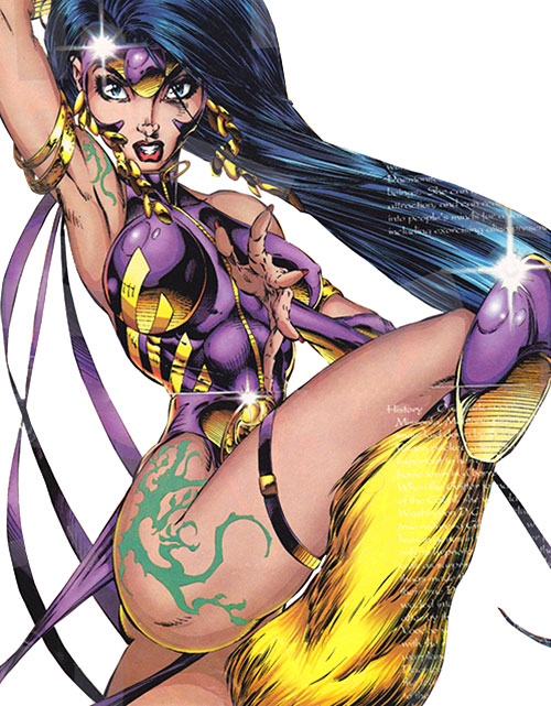 Voodoo of the WildCATs (Wildstorm Comics) in her early outfit