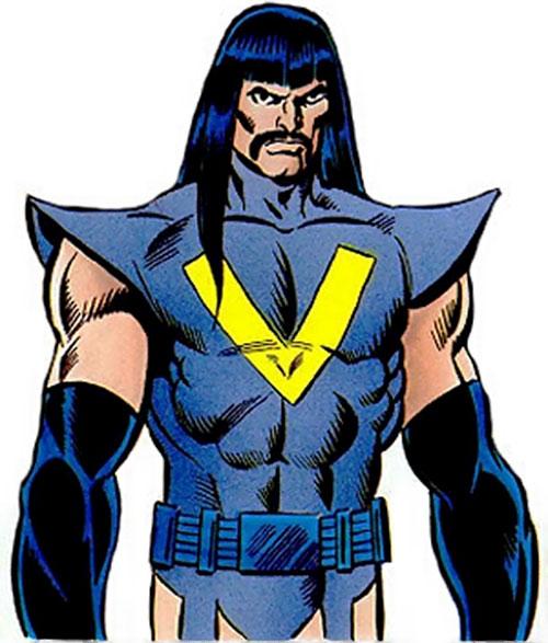 Vootrekker of the Supremacists (Marvel Comics) (Black Panther enemy) TSR illustration