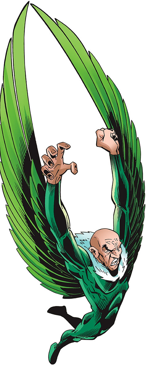 Vulture (Spider-Man enemy) (Marvel Comics) by Wieringo