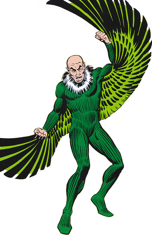 Vulture (Spider-Man enemy) (Marvel Comics) from the handbook