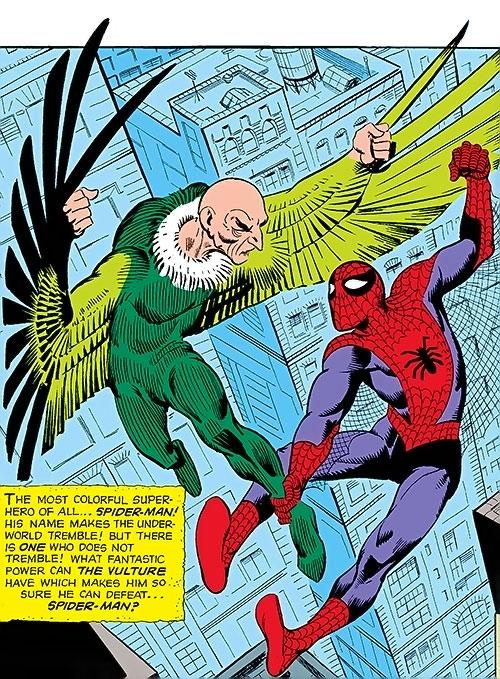Vulture (Toomes) (Marvel Comics) vs. Spider-Man