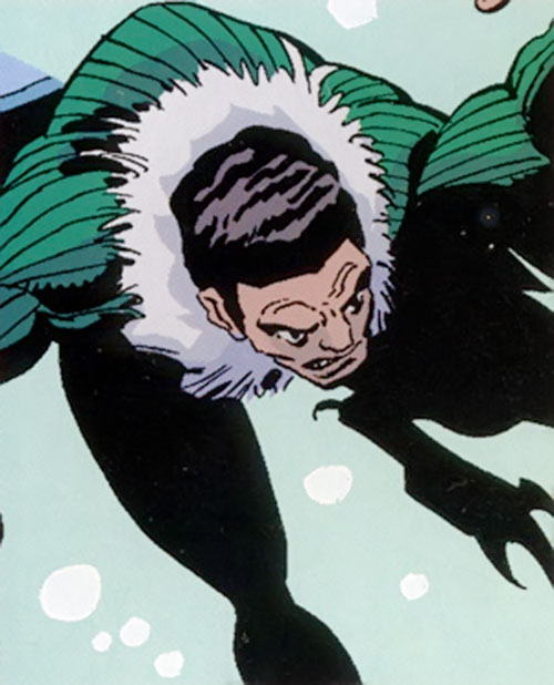 Blackie Drago as the second Vulture (Marvel Comics)