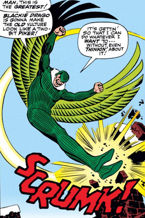 Vulture II - Marvel Comics - Spider-Man enemy - Blackie