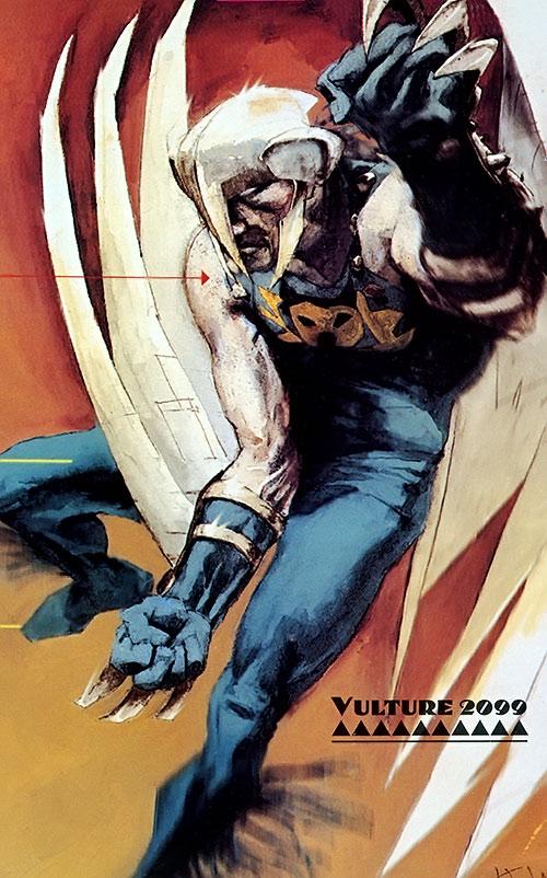 Vulture 2099 (Marvel Comics) painted art