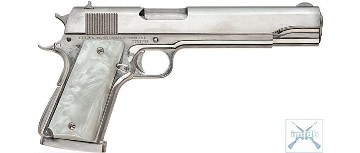Badass .45 used by Alec Baldwin as the Shadow in the movie