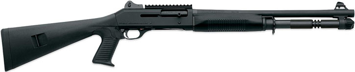Benelli M4 super 90 shotgun with pistol grip