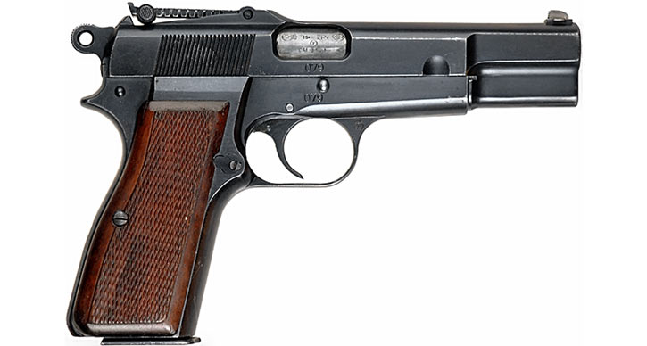 1930s Browning High Power 9mm