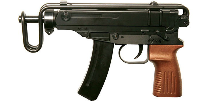 CZ Skorpion vz61 machine pistol (Airsoft replica)