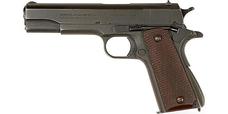 A .45 ACP Colt M1911A1