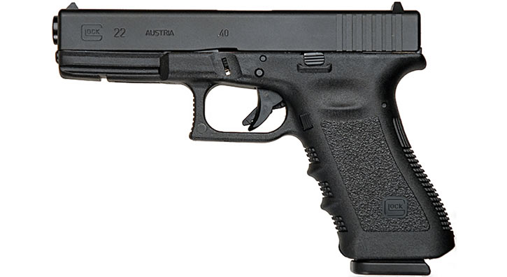Glock 22 in .40 (FBI pistol)