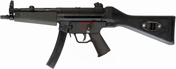 H&K MP5 submachinegun