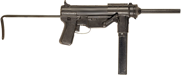 "M3 ""Grease Gun"" submachinegun"