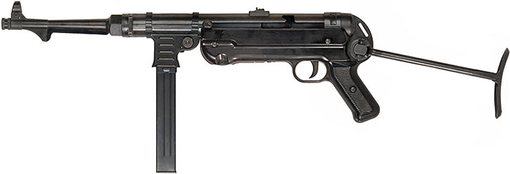 MP40 submachinegun