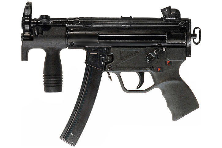 H&K MP5K submachinegun compact