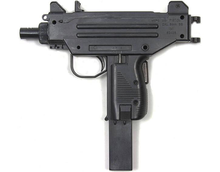 Micro-Uzi pistol replica in 6mm BB