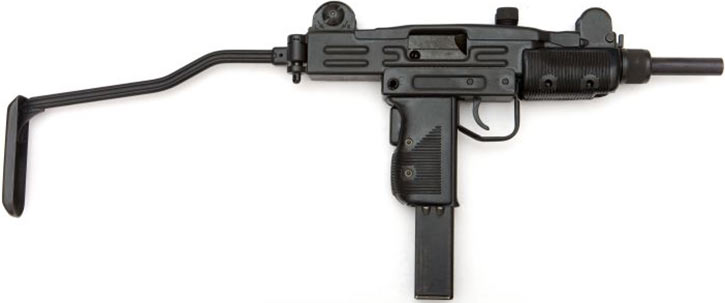 Mini-Uzi submachinegun