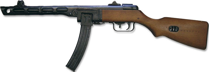 Papasha submachinegun
