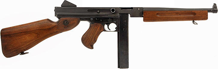 Thomson M1A1 submachinegun