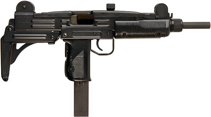 Uzi submachinegun