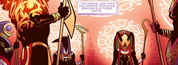 Orishas of Wakanda (Marvel Comics) (Black Panther)