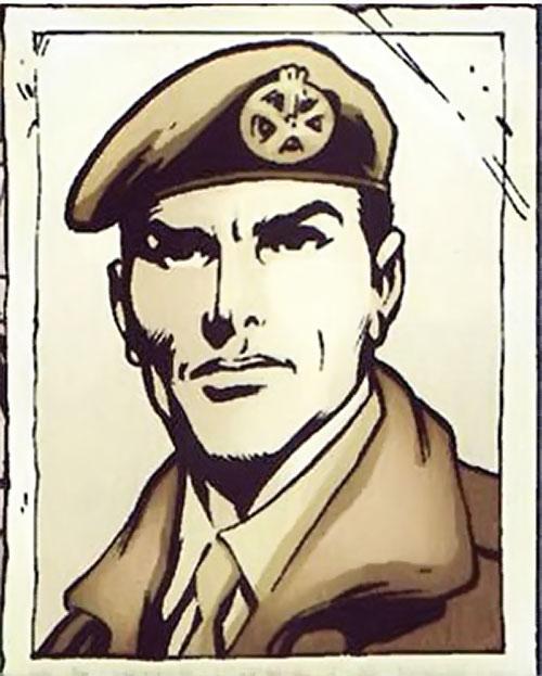 Wallop of Clan Destine (Marvel Comics) World War 2 photo portrait