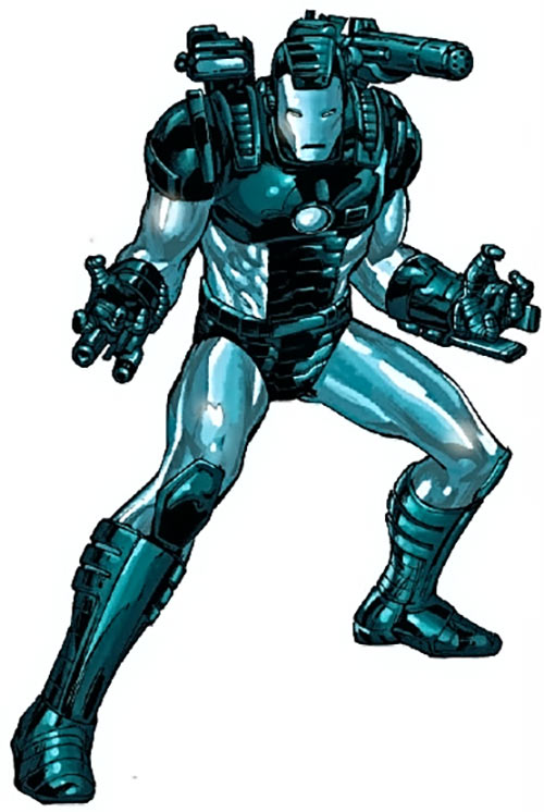 War Machine (James Rhodes) (Marvel Comics) ready for action