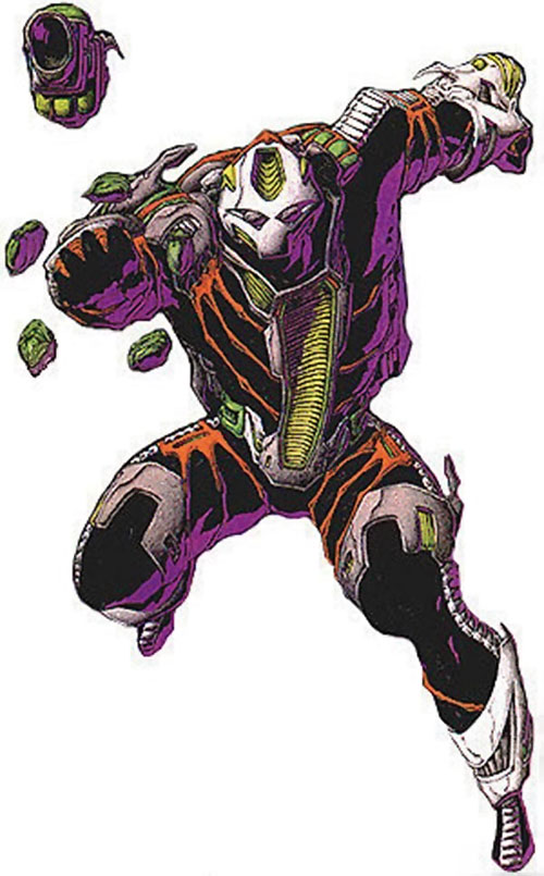War Machine (James Rhodes) (Marvel Comics) eidolon suit