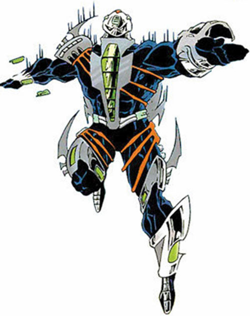 War Machine (James Rhodes) (Marvel Comics) alien armor