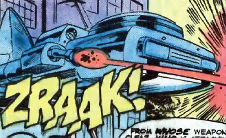Warbot's assault flying wagon (Marvel Comics)