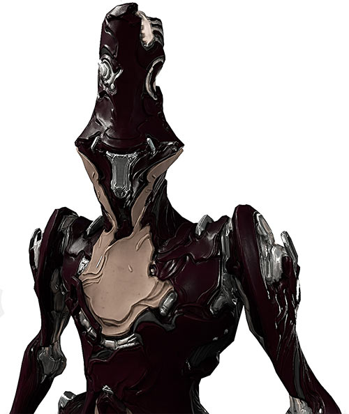 Limbo warframe closeup