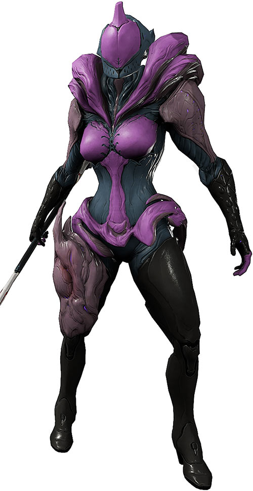 Saryn warframe purple