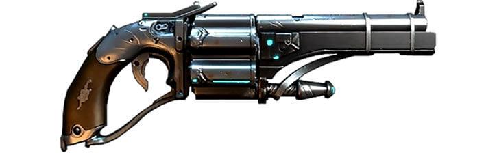 Warframe Vasto revolver