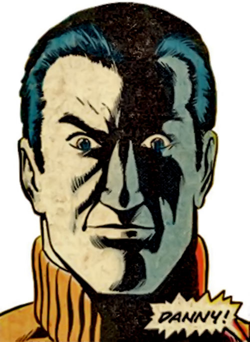 Warhawk (Marvel Comics) face closeup
