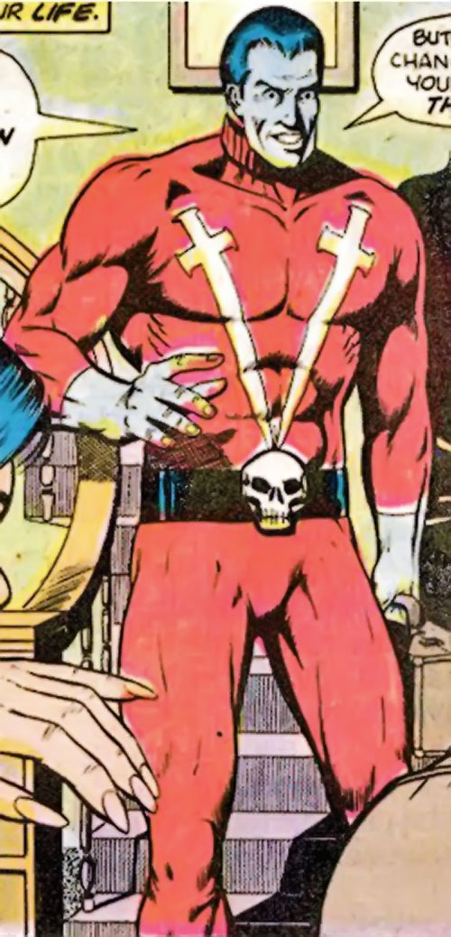 Warhawk (Marvel Comics) with a strange facial expression
