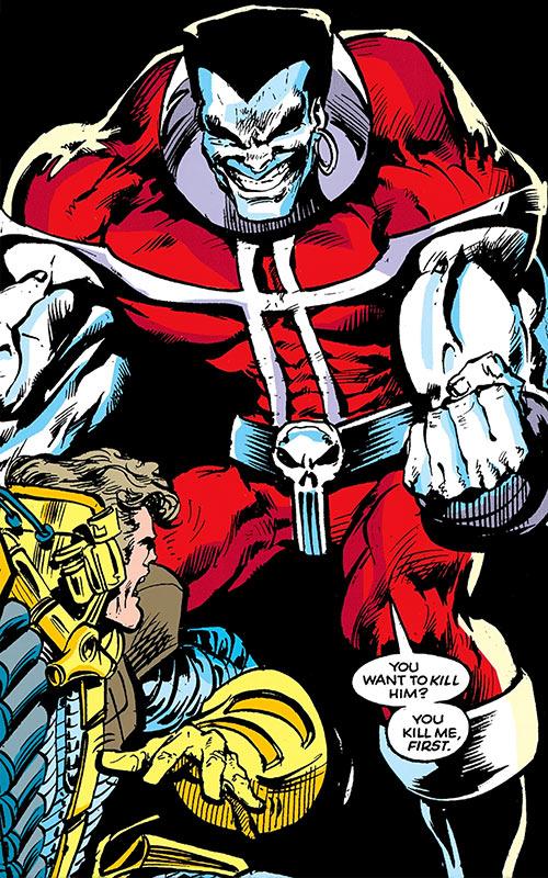 Warhawk (Marvel Comics) in his mutated state vs. Maverick