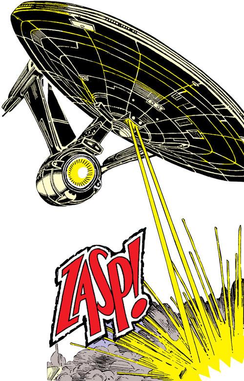 Warlock - Marvel Comics - New Mutants - Techno organic alien - as the USS Enterprise Star Trek