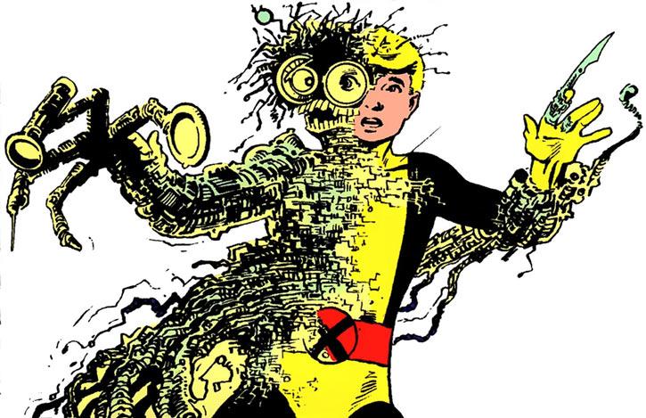 Warlock - Marvel Comics - New Mutants - Techno organic alien - merging with Cypher