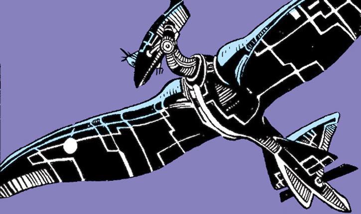 Warlock - Marvel Comics - New Mutants - Techno organic alien - spy bird